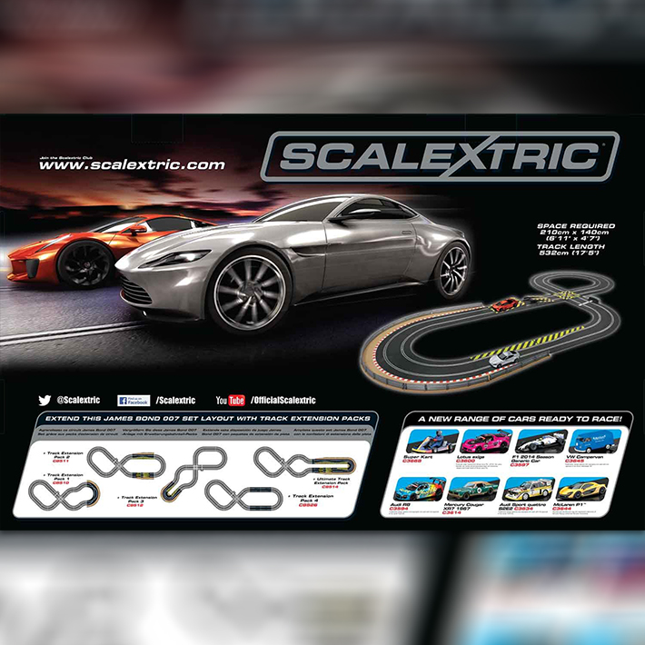James Bond Spectre Scalextric
